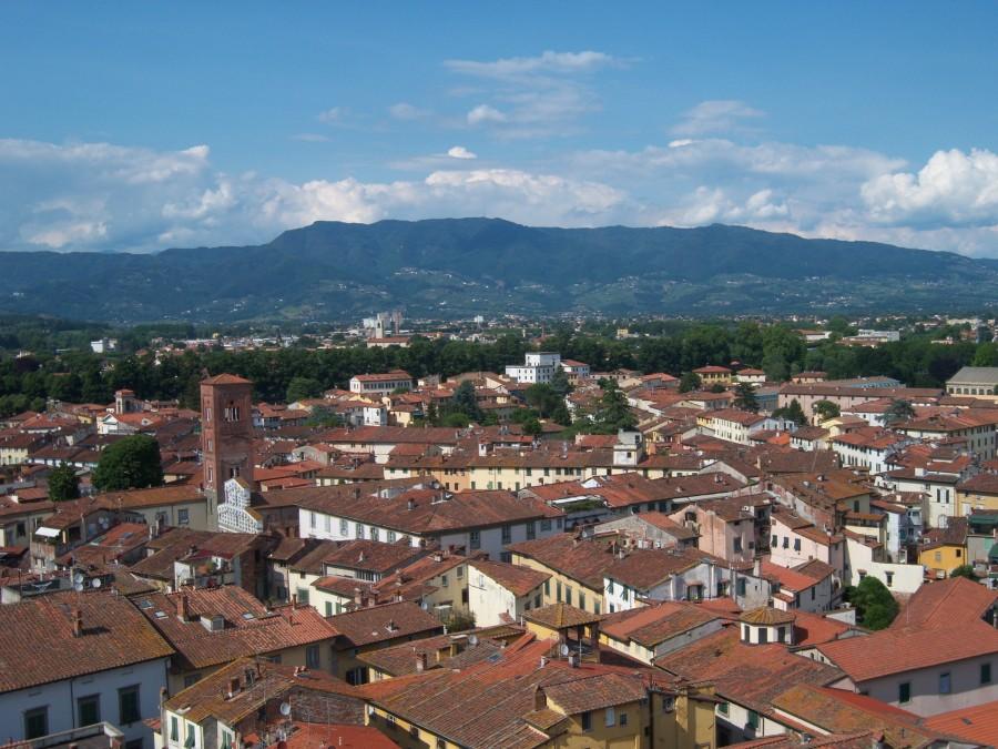 Uitzicht op Lucca
