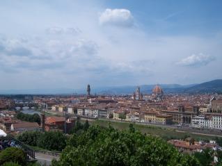 Firenze, met haar oude brug en kathedraal